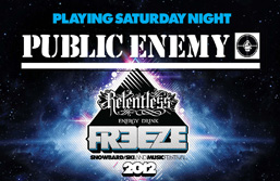 Public Enemy head to Freeze
